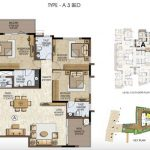 Type A - 3 BHK