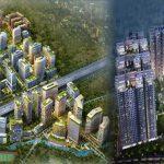 Bhartiya City Nikoo homes Aerial View