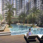 Bhartiya City Nikoo homes Poolside View