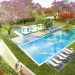 Bhartiya City Nikoo homes Swimming pool