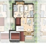 First floor plan 3544 Sft