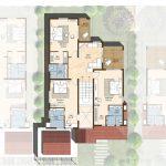 First floor plan 4300 Sft