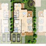 Ground floor plan 4300 Sft