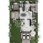 Hiranandani Villas type C ground floor plan