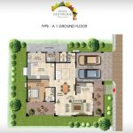 Prestige Glenwood type A Ground floor plan