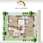 Prestige Glenwood type A first  floor plan