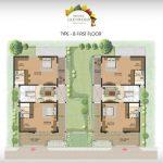 Prestige Glenwood type B first floor plan