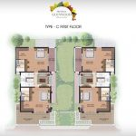 Prestige Glenwood type C first floor plan