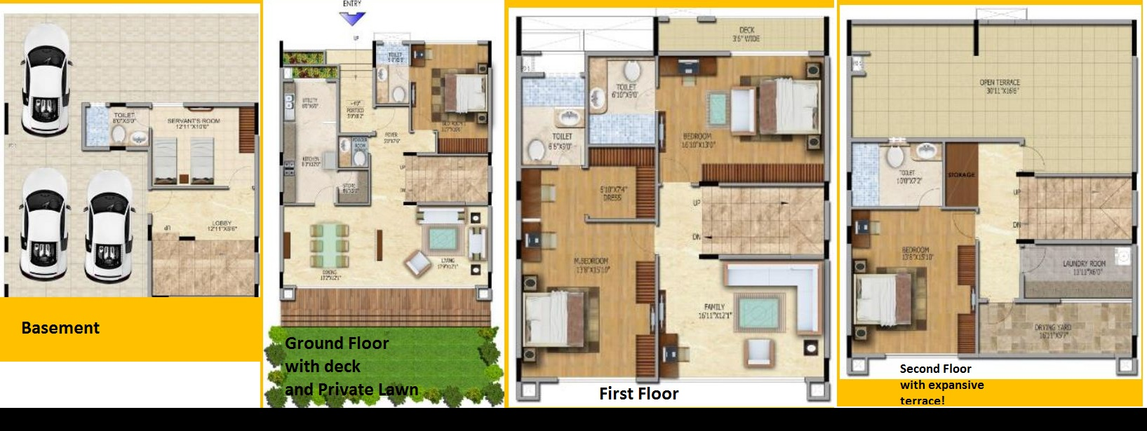 4 bhk villas flat resale hennur road salarpuria for 4 bhk villas in bangalore